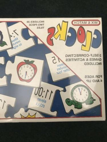 The Clocks Game - Mix Teaches How Tell Time!