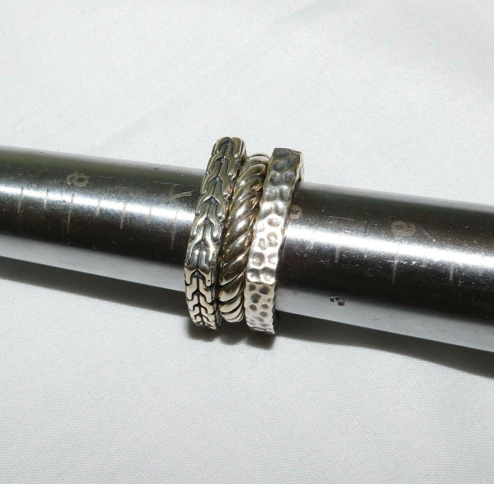 Clocks Sterling 3 Stackable NEW 8