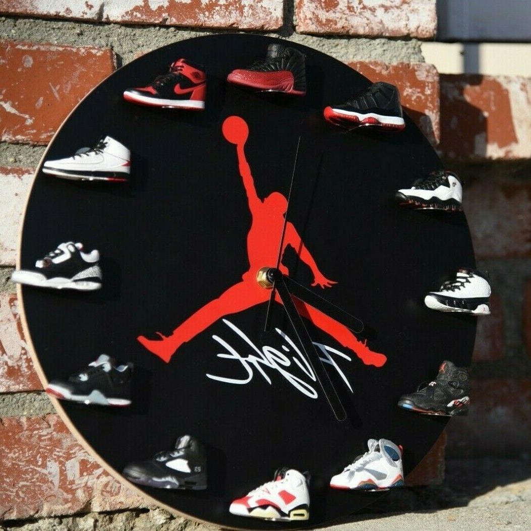 Ultimate Sneakerhead mini Sneakers Clock Sellers Best Holiday Gifts