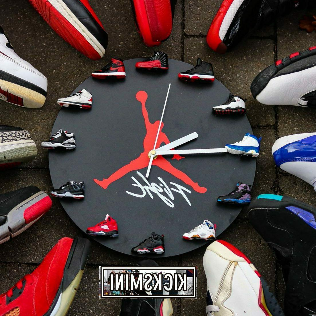 ultimate sneakerhead gifts 3d mini sneakers clock
