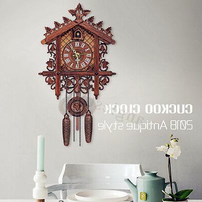 US Vintage Cuckoo Clock Wall Decor