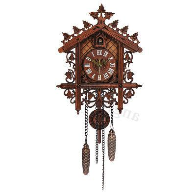 US Clock Forest Wall Handcraft Decor