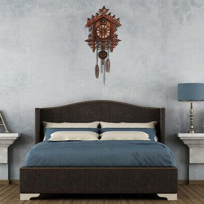 US Cuckoo Clock Forest Swing Wall Alarm Room !