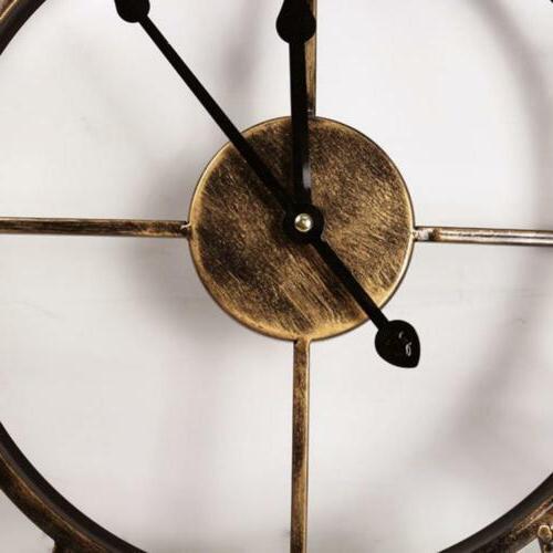 Aero Snail 20-inch Metal Wall Clock with...