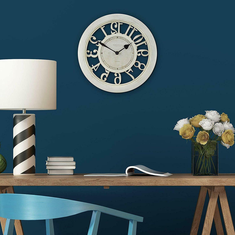 Wall Clock Large Room Decoration Office Quartz