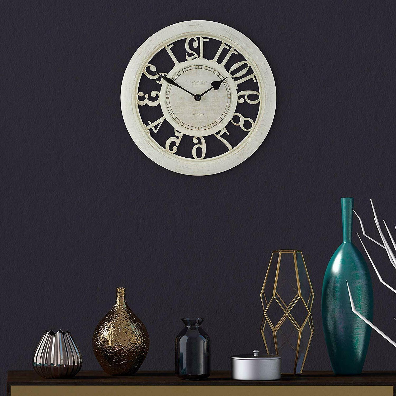 Wall Clock Room Decoration Office Antique Quartz