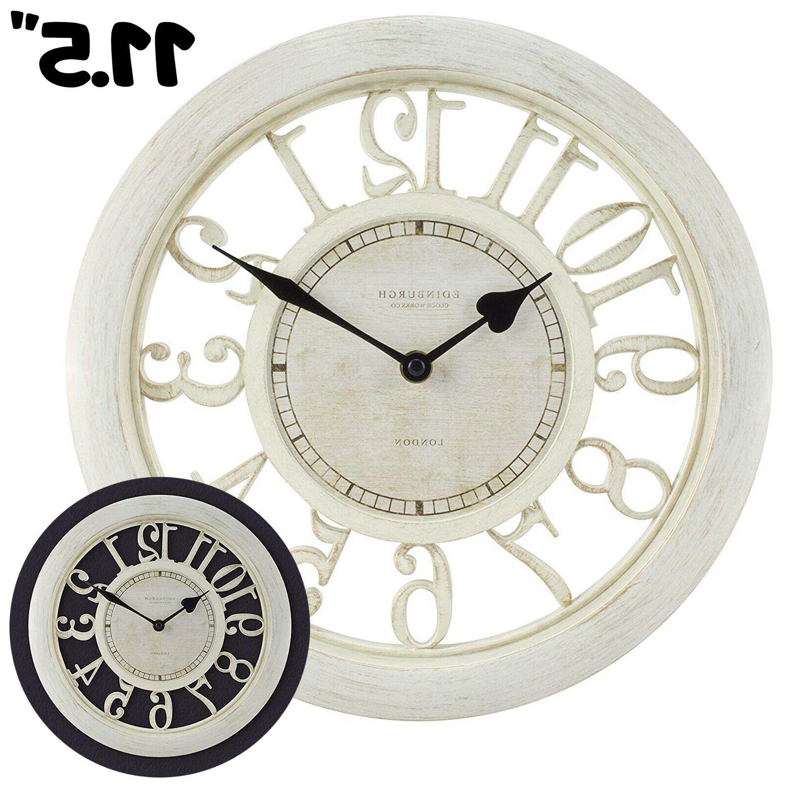 wall clock large living room decoration modern