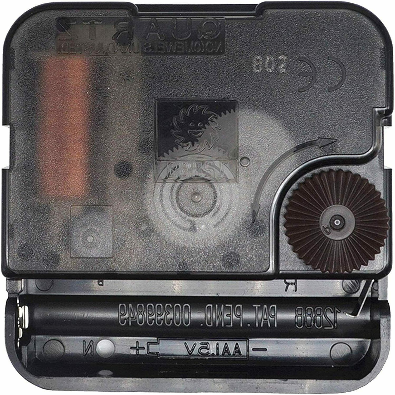 wall clock movement mechanism battery operated diy