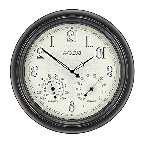 weather master wall clock