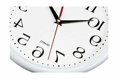 Bernhard Products Wall Clocks,10 Set of Non