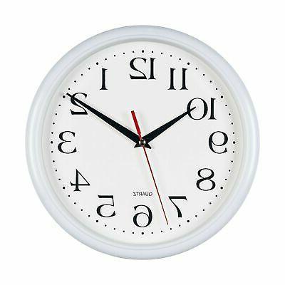 Bernhard Wall Clocks,10 Inch Set of Non Ticking