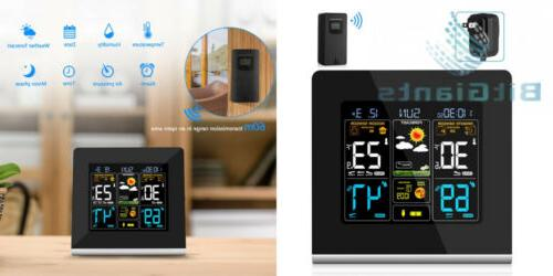 wireless weather station monitoring clocks digital hygromete
