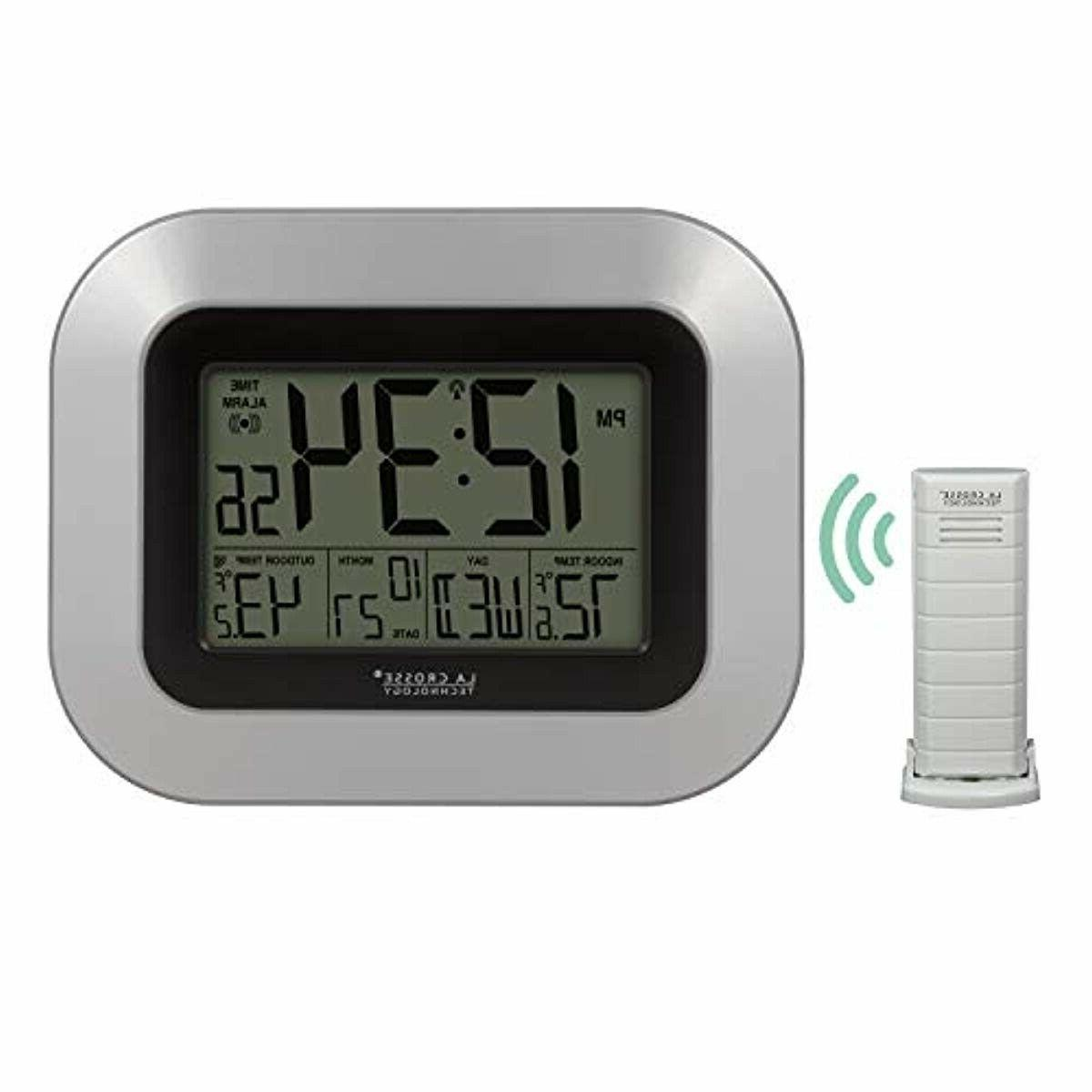 WS-8115U-S-INT Digital Clock Outdoor