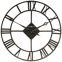 Lacy II Wrought Iron Wall Clock