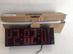 ECVISION LARGE BIG NUMBER WITH CALENDER CLOCK