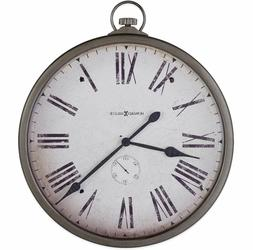 """Large Pocket Watch Wall Clock 30"""" Vintage Rustic Antique Sty"""
