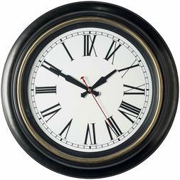 Bernhard Products Large Wall Clock 18 Inch Quality Quartz Si