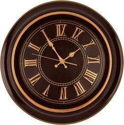 large wall clock 18 quality quartz silent