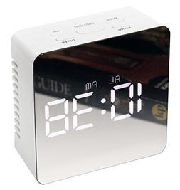 Infinity Instruments Le Petit Mirror Digital Alarm Clock