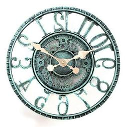 Lilyshome Lily's Home Hanging Wall Clock, Steampunk Gear and