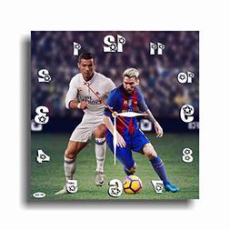 ART TIME PRODUCTION Lionel Messi&Cristiano Ronaldo 11''