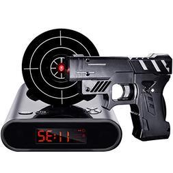 IreVoor Lock N' Load Gun Alarm Clock Target Alarm Clock Crea