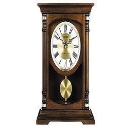 Seiko Mantle Pendulum Chime Base White Dial Quarter-Hour Clo