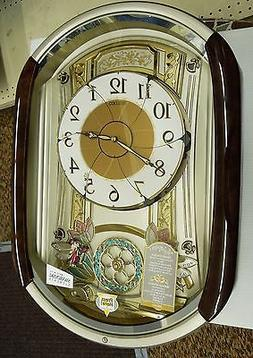 Seiko Melodies in Motion Pendulum Wall Clock
