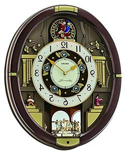 Seiko Melodies in Motion Pendulum Wall Clock