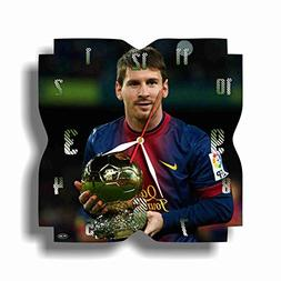 ART TIME PRODUCTION Messi 11'' Handmade Wall Clock - Get