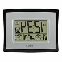 MMdex La Crosse Technology WT-8002U Digital Wall Clock