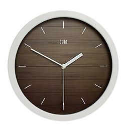 hito Silent Wall Clock Non Ticking 12 inch Excellent Accurat
