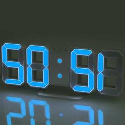 Modern Design Large Size Digital LED Wall Clock Watch Home T
