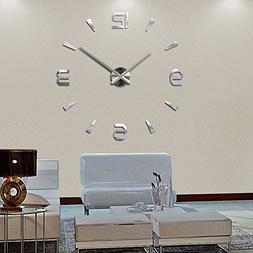 Modern DIY Large Clock Clock 3D Sticker Decorative Stickers
