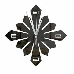 Modern Luxury Designs DIY Walls Clock 40cm 180 Geometric Nee