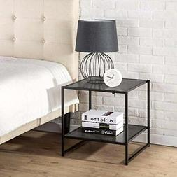 Zinus Modern Studio Collection 20 Inch Square Side End Table