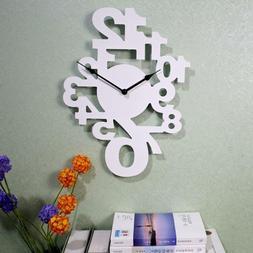Modern Wall Clocks Silent Watch Living Room Home Decor Acces