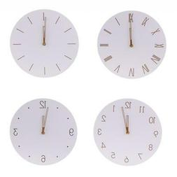 Modern Wooden Wall Clock for Home Kitchen Bedroom Classroom
