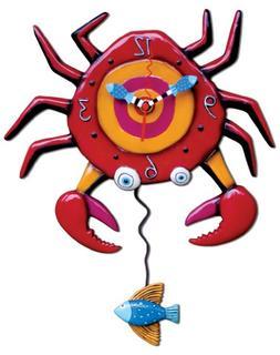 Allen Designs Monkey Boy Pendulum Wall Clock NIB