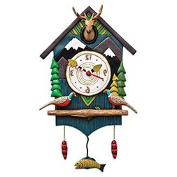 Allen Designs Mountain Time Pendulum Clock