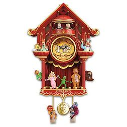 The Muppet Show LED Lighted Cuckoo Clock With Kermit the Fro