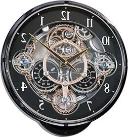 RHYTHM MUSICAL MAGIC MOTION  WALL CLOCK -30 MELODIES - FANCY