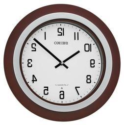 Seiko Musical Wall Clock QXM547BLH BRAND NEW plays 18 Hi-Fi