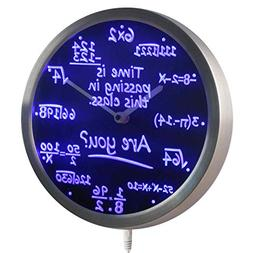 ADVPRO nc0463-b Math Class Time is Passing are you? Gift Dec