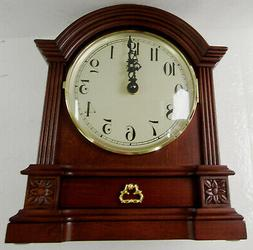 NEW HERMLE BARRISTER STYLE MANTLE CLOCK WITH  HARMONIC CHIME