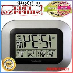 NEW Digital Wall Clock with Sensor Alarm Calendar,Indoor Out