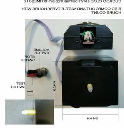 NEW QUARTZ CLOCK Battery Movement Mechanism CUCKOO CLOCK Rep