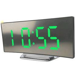 night light alarm clock digital led display