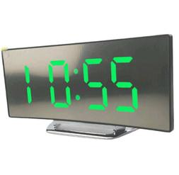 Night Light Alarm Clock Digital LED Display Battery Operated