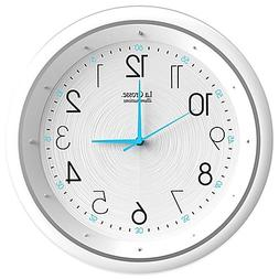 La Crosse Technology Night Vision Analog Wall Clock Measures